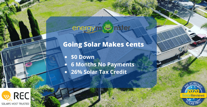 Go Solar With $0 Down. Schedule Your Free Consultation Today! (1)